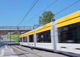 Vogt Projektcontrol Ulm Referenzen - Neubau einer Straßenbahntrasse in Mainz